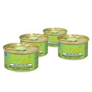 California-Scents-Air-Freshener-4-Pack-Malibu-Melon