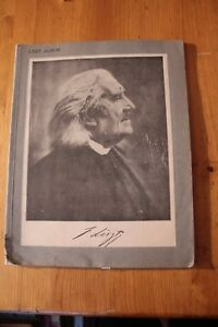 Liszt Album  Bosworth Edition  musicsongbook - North Walsham, United Kingdom - Liszt Album  Bosworth Edition  musicsongbook - North Walsham, United Kingdom