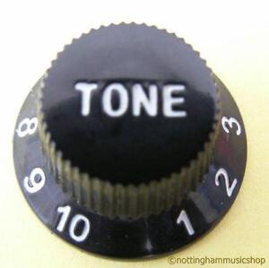 BLACK-ELECTRIC-GUITAR-TONE-CONTROL-KNOB-NEW-ST-CHEAP