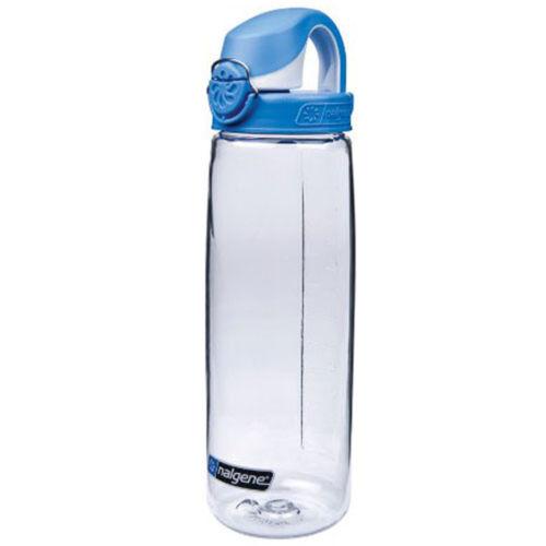 Nalgene Tritan On the Fly Water Bottle 24 oz. Clear//Seaport