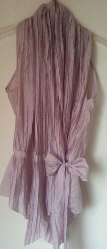 SILK/Cotton Pleated Blouse by J&S MILLENIUM, Wrap