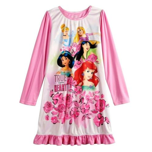 Disney Princess or Minnie Mouse Toddler Girls Nightgown NWT Sleepwear Size   2T