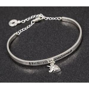 Costume Jewellery Lovely Silver And Black Diamante Bangle Jewellery & Watches
