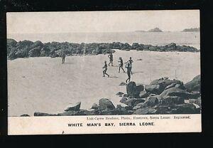 West Africa Sierra Leone WHITE MAN'S BAY pre1919 PPC