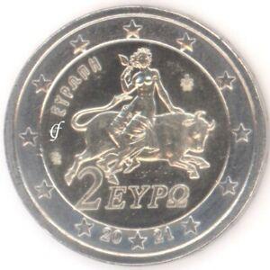 Griechenland 2 Euro Kursmünze Kursmünzen - alle Jahre wählen - Neu