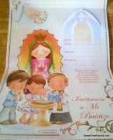 Invitations Bautizo Spanish Christening Baptism Party 10 Invitaciones Virgencita