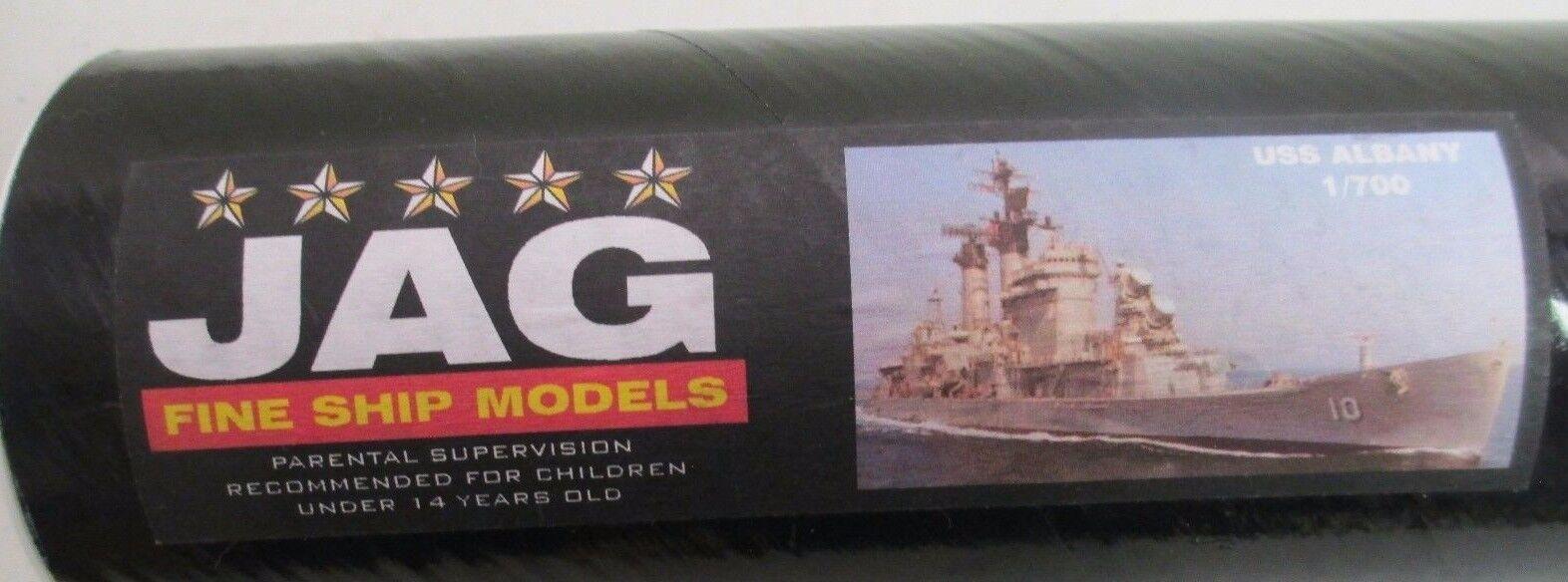 JAG Fine Ship Models - USS ALBANY   Resin Kit JAG007   1 700 - NEW NOS