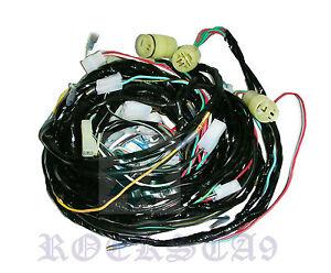 suzuki sj410 1 0 ltr wire harness  u0026quot  rhd  u0026quot  jimny samurai