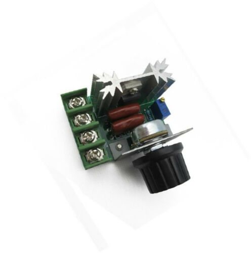 5PCS 220V 2000W Speed Controller SCR Voltage Regulator Dimmers Thermostat