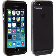 CASEMATE NAKED TOUGH SMOKE CLEAR DUAL LAYER SLIM CASE FOR IPHONE SE 5S
