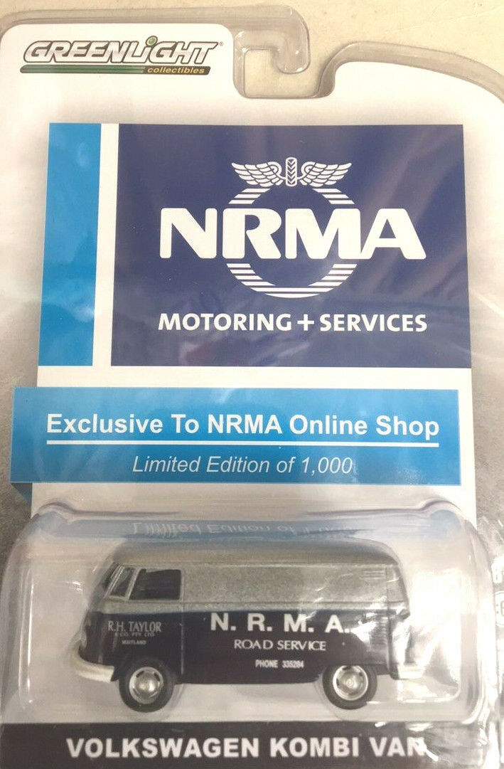 GreenLight VW VW VW Volkswagen NRMA 1 of 1000 Australia only Harder to find than a Gre e12c1d