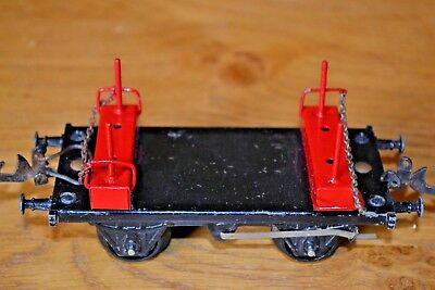 Capace Hornby Series O Gauge; Steel Carrier Wagon Paghi Uno Prendi Due