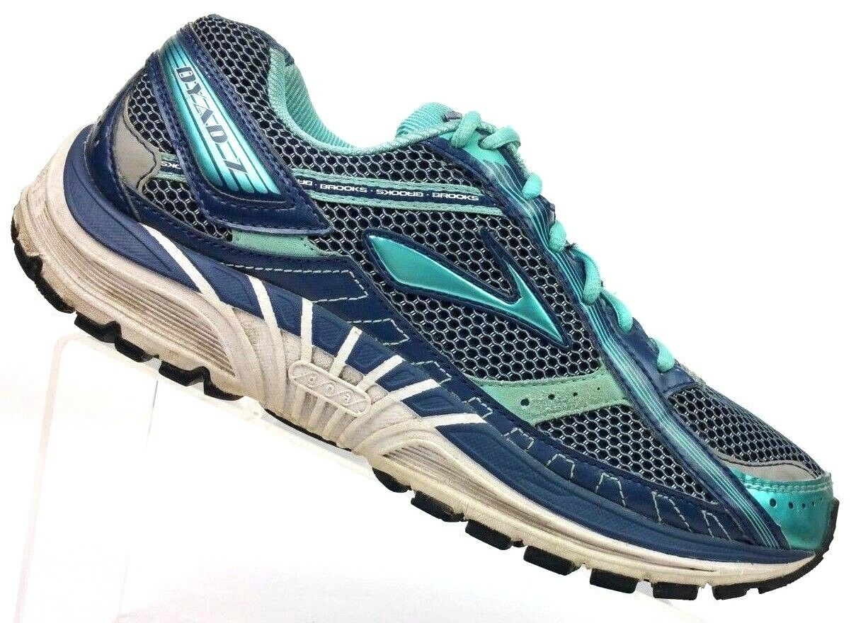 Brooks Dyad 7 Navy Teal Athletic Running shoes Women's 10.5 M   EU 42.5