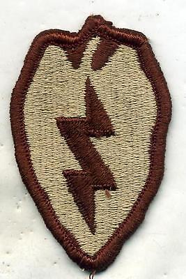 US Army 25th Infantry Division DCU Desert Tan Patch