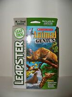 Leapster Find Animal Genius Game Cartridge