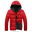 Casual-Men-Winter-Solid-Hooded-Thick-Padded-Jacket-Zipper-Outwear-Coat-Warm-Lot thumbnail 16