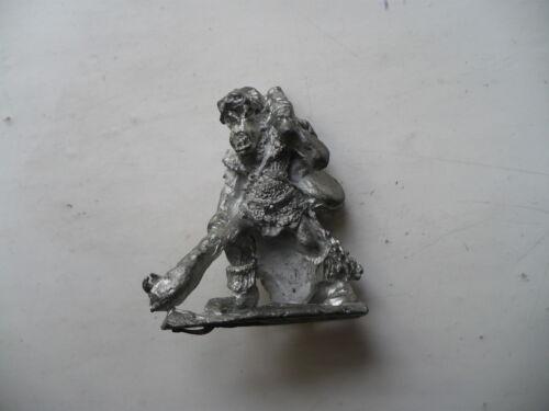 Citadel Warhammer Reg renombre RR5 harboth Negro Montaña Chicos Orco músico fuera de imprenta
