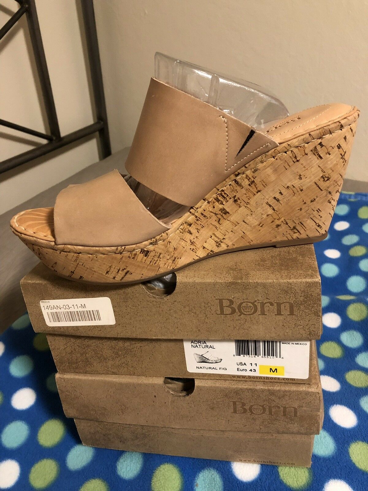 Born shoes size 11 womens
