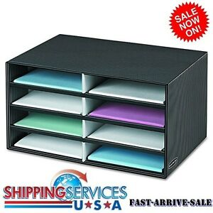 Image Is Loading Desktop Office Storage Organizer Cardboard Box Paper Sheet