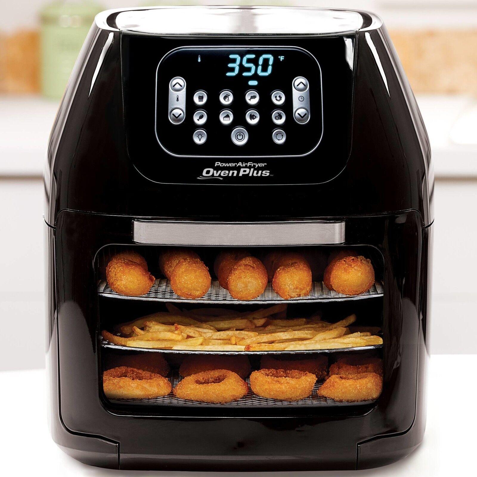 Power Air Fryer Four plus 6 Qt famille de taille 7 en 1 professionnel cuisine faible en matières grasses