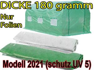 2x3 2x4,5 3x6 Gewächshaus Ersatzfolie für Folientunnel Gartentunnel Treibhaus