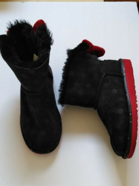 Toddler UGG Sweetie Bow Minnie Mouse