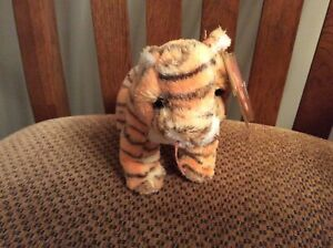 """Ty Beanie Baby """"RUMBA"""" the Tiger MWMT 2003"""
