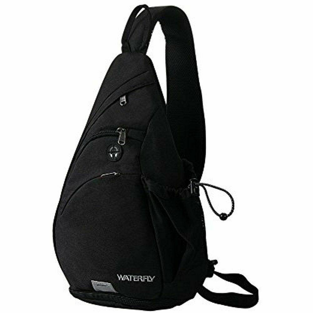 Waterfly Crossbody Sling Backpack Sling Bag Travel Hiking Chest Bags Daypack