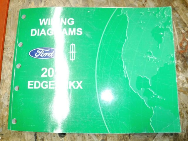 2012 Ford Edge Lincoln Mkx Original Factory Wiring Diagrams Manual Service