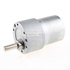 6V DC 0.5A 25GA 20RPM 500mA High Torque Electric Gear Box Motor 25MM 2KG.CM