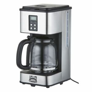 Coffee-maker-Heller-ProfessionalStainless-Steel-12Cup-Coffee-Machine-Drip-Filter