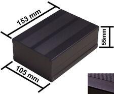 Black Diy Aluminum Project Box Enclosure Case Electronic 153x105x55mmmedium