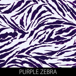 Purple Zebra print Hydrographic Film animal dip stick hydro gun pistol