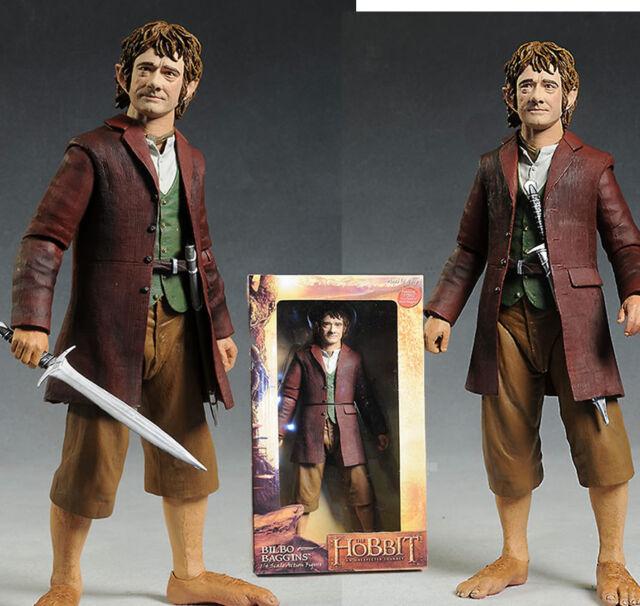 Figura Bilbo escala 1/4  30  cm  Neca Figure EL Hobbit The figure bolsón Baggins
