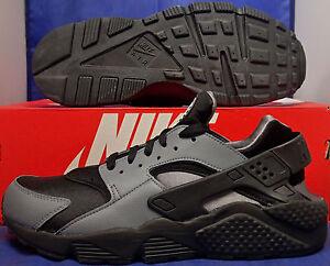 Nike Air Huarache Run iD Black Grey SZ 9.5 ( 777330-994 )