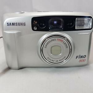 SAMSUNG-FINO-800-appareil-photo-numerique-film-35-mm-compact-Clean-amp-avec-etui