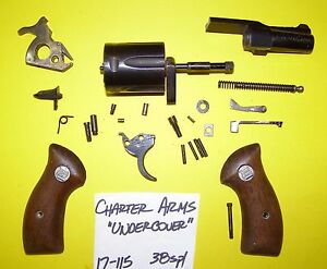 Details about CHARTER ARMS UNDERCOVER 38 SP  GUN PARTS LOT ALL 4 ONE PRICE  ITEM # 17-115