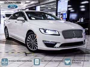 2017 Lincoln MKZ SELECT PLUS HYBRID|NAV|MOONROOF|BEIGE LEATHER