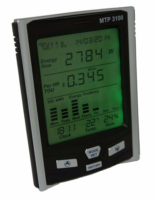 MTP 3100 Electricity Power Consumption Monitor Energy Saver