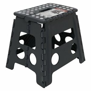 13-034-33CM-Step-Stool-Portable-Plastic-Folding-Foldable-Chair-Store-Flat-Outdoor