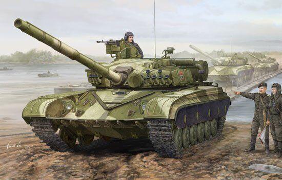 01579 Trumpeter 1 35 Model Soviet T-64A Mod.1981 Tank Main Battle Chariot Panzer