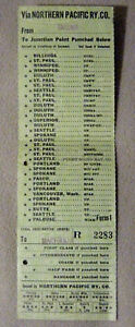Ticket-Northern-Pacific-Tacoma-to-Marysville-Feb-11-1946