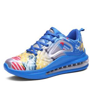 Men-039-s-Women-Sports-Shoes-Air-Cushion-Fashion-Sneakers-Athletic-Running-Jog47