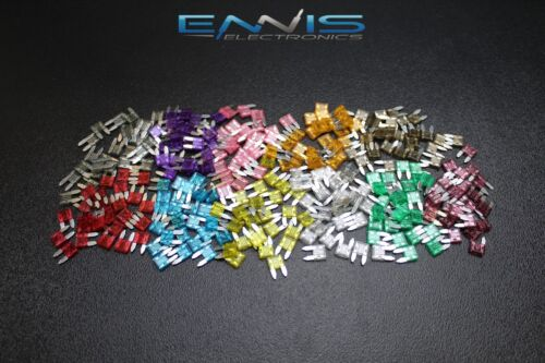 PACK ATM VARIETY FUSES MINI FUSE BLADE STYLE CAR BOAT AUTOMOTIVE AUTO ATM 55