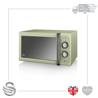 SWAN Retro SM22030GN Solo Microwave