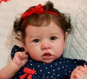 8d87ac432512d1 Chargement de l image Custom-Order-for-Reborn-Saskia-Bonnie-Brown-Baby-