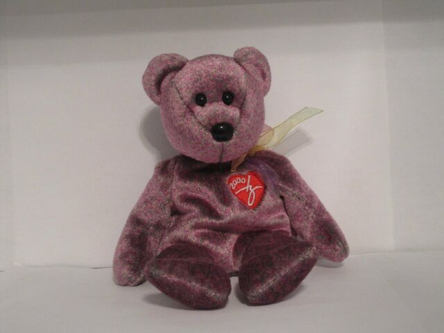 Ty Beanie Baby 2000 Signature Bear 6th Generation Ships Tag Protected e183b3f5d70