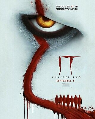 """It Chapter 2 Movie Poster 24/"""" x 36/"""" or 27/"""" x 40/"""""""