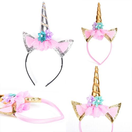 Magical Unicorns Horn Head Party Hair Headband Fancy Dress Cosplay DecorativPTH