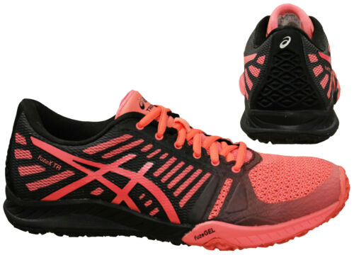 Asics FuzeX Womens Training Shoes Low Top Trainers Lace Up S663N 1717 B55A